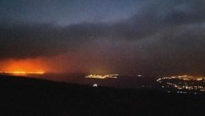 Emitieron orden de evacuación en la Isla Grande de Hawái tras incendios forestales