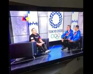 ¡Papelón olímpico! Grosero chavista manipulaba entrevista en Tves… tras olvidar que estaba EN VIVO