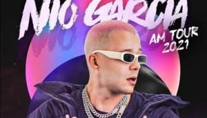 """¡Atención fanaticada! Nio García anunció su gira """"AM TOUR 2021"""""""
