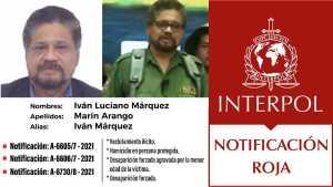 """Colombia pidió formalmente la captura de alias """"Iván Márquez"""", escondido en Venezuela"""