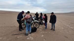 """""""Me voy a morir"""": Desgarrador mensaje de venezolana que sigue perdida en desierto peruano"""