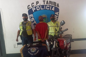 Robó un celular utilizando una pistola de juguete en Táchira