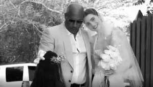 Lo más importante es la familia: Vin Diesel acompañó a la hija de Paul Walker al altar (VIDEO)
