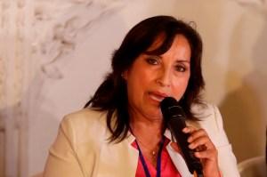 Vicepresidenta de Perú será investigada por lavado de activos tras campaña del partido de Castillo