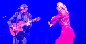 ¡Talento de exportación! La bailaora venezolana, Siudy Garrido se lució en el concierto de Alejandro Sanz en Miami